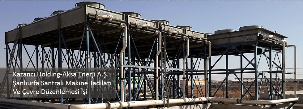 Şanlıurfa santrali makine tadilatı